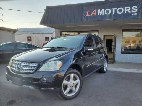 2008 Mercedes-Benz M-Class for sale at LA Motors LLC in Denver CO