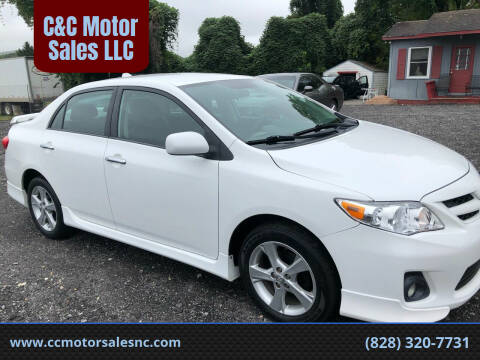 2012 Toyota Corolla for sale at C&C Motor Sales LLC in Hudson NC