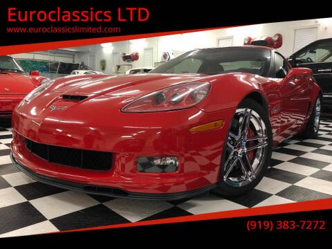 2008 Chevrolet Corvette for sale at Euroclassics LTD in Durham NC