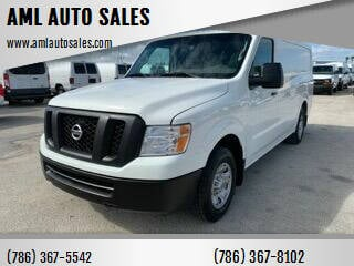 2016 Nissan NV Cargo for sale at AML AUTO SALES - Cargo Vans in Opa-Locka FL