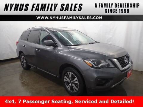 2017 Nissan Pathfinder for sale at Nyhus Family Sales in Perham MN