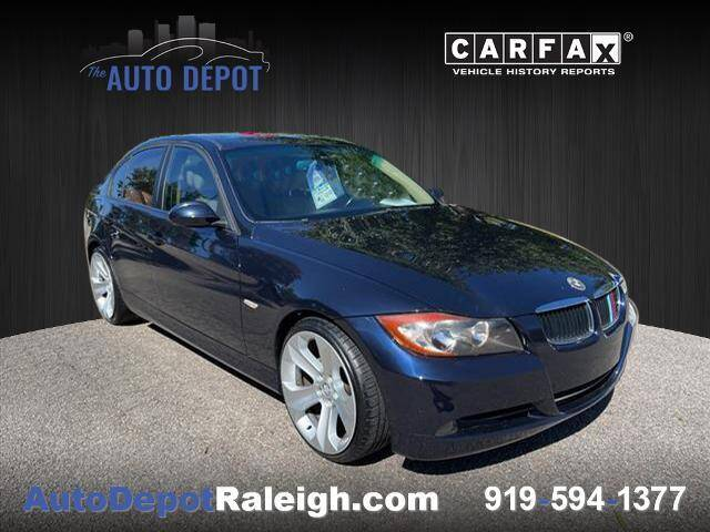 2007 BMW 3 Series for sale at The Auto Depot in Raleigh NC