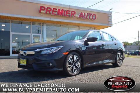 2017 Honda Civic for sale at PREMIER AUTO IMPORTS - Temple Hills Location in Temple Hills MD