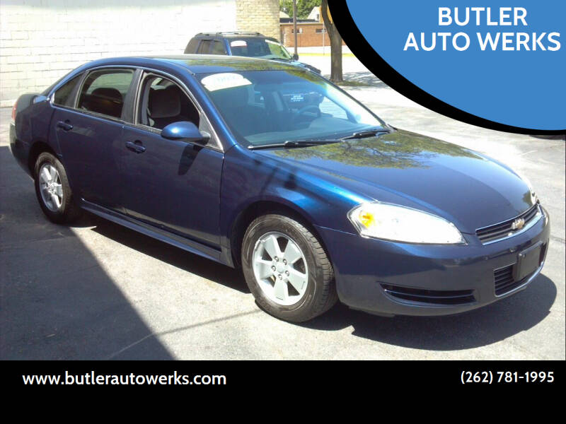 2009 Chevrolet Impala for sale at BUTLER AUTO WERKS in Butler WI