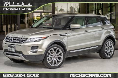 2012 Land Rover Range Rover Evoque for sale at Mich's Foreign Cars in Hickory NC