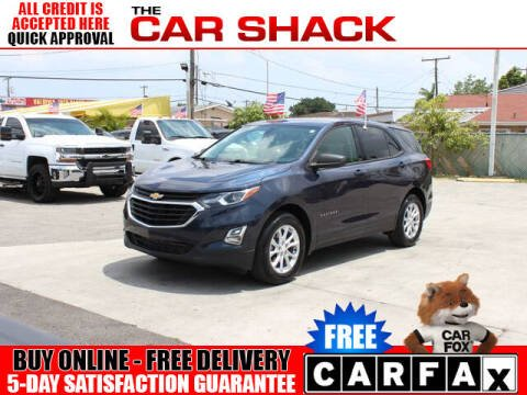 2018 Chevrolet Equinox for sale at The Car Shack in Hialeah FL
