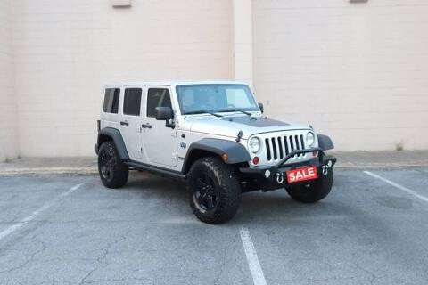 2012 Jeep Wrangler Unlimited for sale at El Patron Trucks in Norcross GA