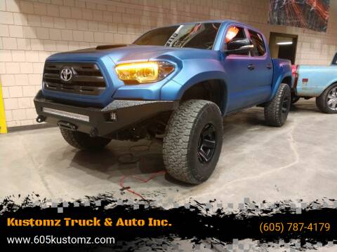 2016 Toyota Tacoma for sale at Kustomz Truck & Auto Inc. in Rapid City SD
