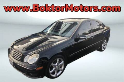 2007 Mercedes-Benz C-Class for sale at Boktor Motors in North Hollywood CA