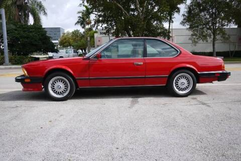 1987 BMW M6 for sale at PERFORMANCE AUTO WHOLESALERS in Miami FL