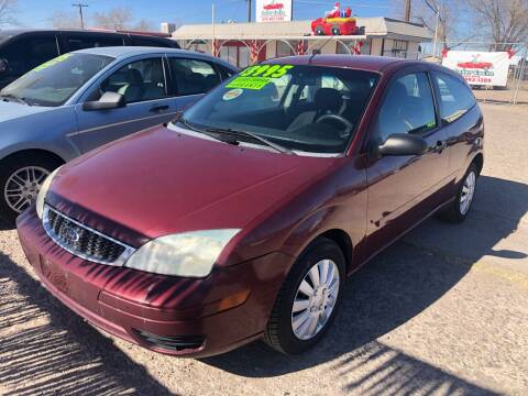 2007 Ford Focus for sale at Senor Coche Auto Sales in Las Cruces NM