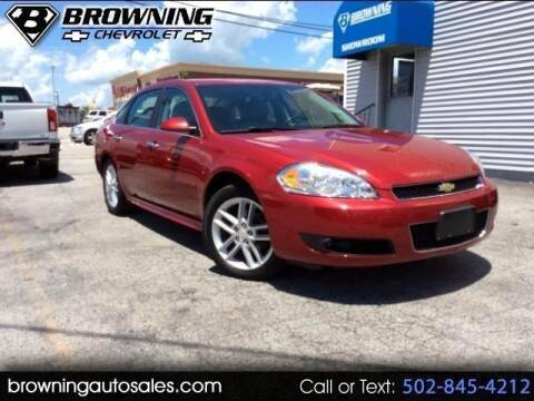 2013 Chevrolet Impala for sale at Browning Chevrolet in Eminence KY
