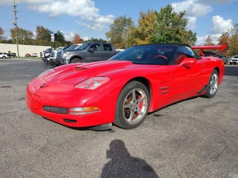 2002 Chevrolet Corvette for sale at Cruisin' Auto Sales in Madison IN