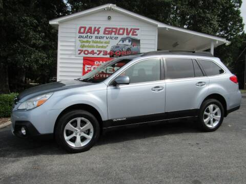 2014 Subaru Outback for sale at Oak Grove Auto Sales in Kings Mountain NC