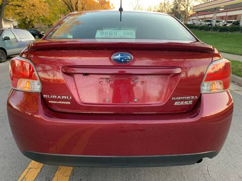 2015 Subaru Impreza for sale at Via Roma Auto Sales in Columbus OH