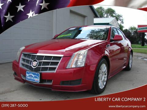 2011 Cadillac CTS for sale at Liberty Car Company - II in Waterloo IA