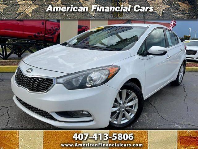 2015 Kia Forte for sale at American Financial Cars in Orlando FL