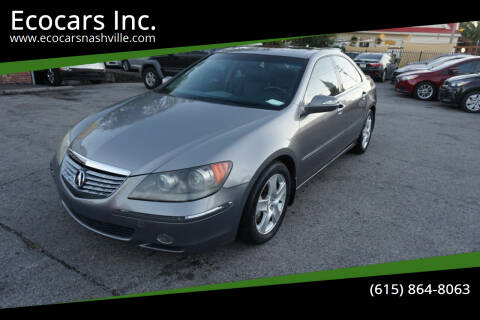 2005 Acura RL for sale at Ecocars Inc. in Nashville TN