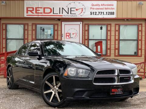 2013 Dodge Charger for sale at REDLINE AUTO SALES LLC in Cedar Creek TX