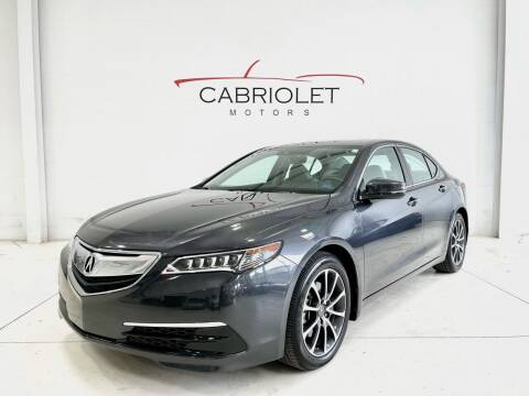 2015 Acura TLX for sale at Cabriolet Motors in Morrisville NC