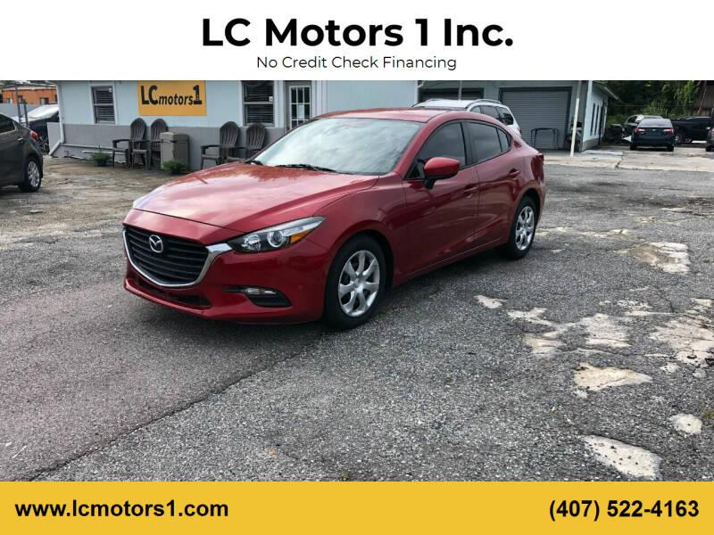 2017 Mazda MAZDA3 for sale at LC Motors 1 Inc. in Orlando FL