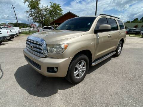 2010 Toyota Sequoia for sale at RODRIGUEZ MOTORS CO. in Houston TX