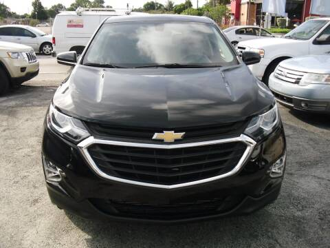 2018 Chevrolet Equinox for sale at SUPERAUTO AUTO SALES INC in Hialeah FL