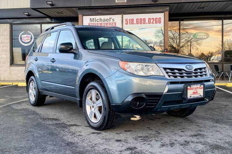 2012 Subaru Forester for sale at Michaels Auto Plaza in East Greenbush NY