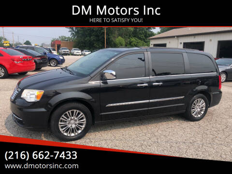 2013 Chrysler Town and Country for sale at DM Motors Inc in Maple Heights OH