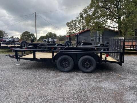 """2022 HD 83""""x14' Utility Trailer for sale at TINKER MOTOR COMPANY in Indianola OK"""
