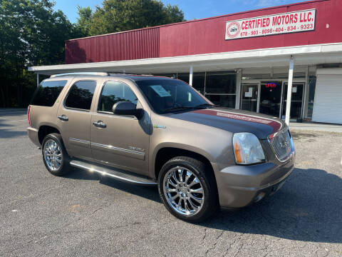 2013 GMC Yukon for sale at Certified Motors LLC in Mableton GA