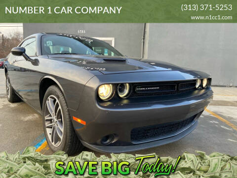 2019 Dodge Challenger for sale at NUMBER 1 CAR COMPANY in Detroit MI