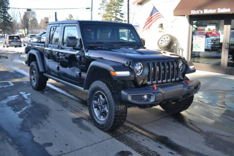 2020 Jeep Gladiator for sale at Nick's Motor Sales LLC in Kalkaska MI