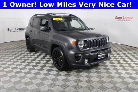 2019 Jeep Renegade for sale at Sam Leman Mazda in Bloomington IL