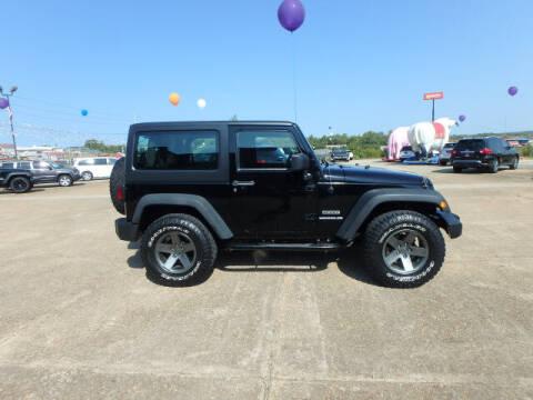 2012 Jeep Wrangler for sale at BLACKWELL MOTORS INC in Farmington MO