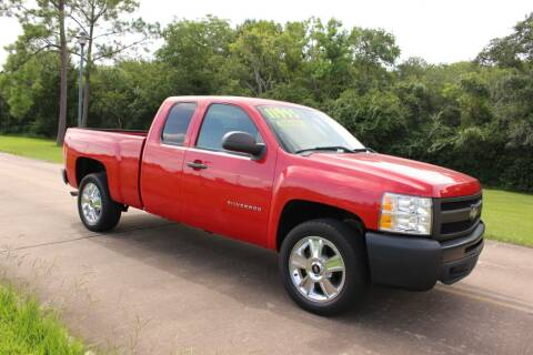2010 Chevrolet Silverado 1500 for sale at Clear Lake Auto World in League City TX
