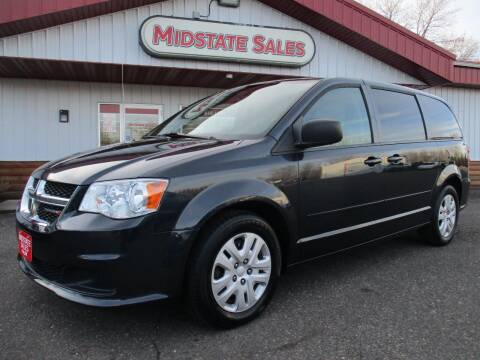 2014 Dodge Grand Caravan for sale at Midstate Sales in Foley MN
