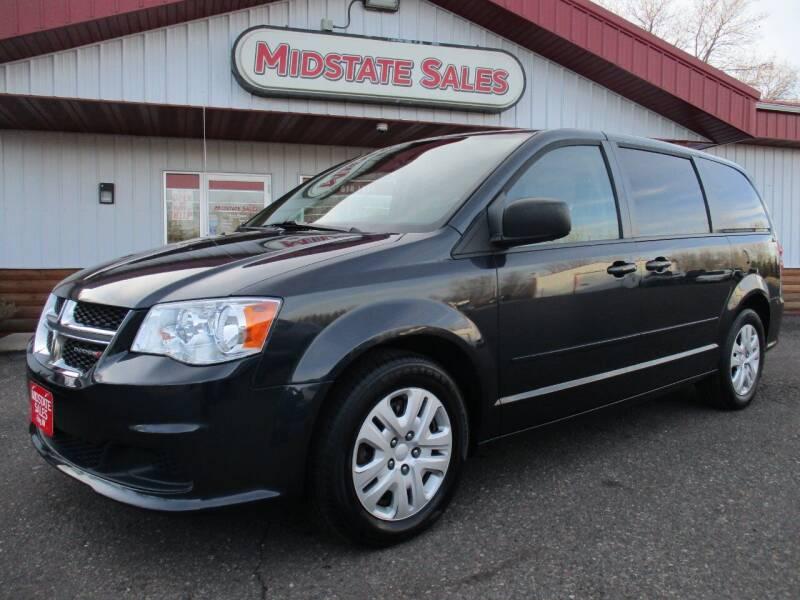 2014 Dodge Grand Caravan for sale at Midstate Sales in Foley MN