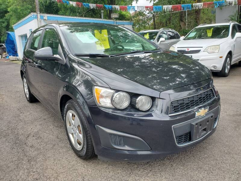 2015 Chevrolet Sonic for sale at New Plainfield Auto Sales in Plainfield NJ