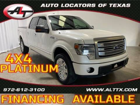 2014 Ford F-150 for sale at AUTO LOCATORS OF TEXAS in Plano TX