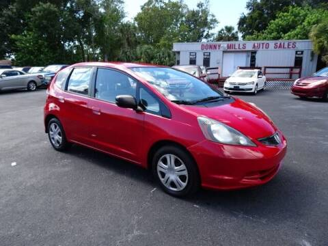 2011 Honda Fit for sale at DONNY MILLS AUTO SALES in Largo FL