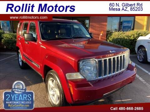 2012 Jeep Liberty for sale at Rollit Motors in Mesa AZ