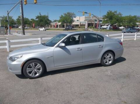 2010 BMW 5 Series for sale at Classic Car Deals in Cadillac MI