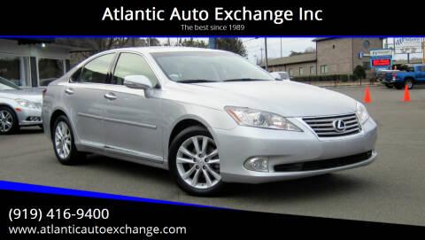 2012 Lexus ES 350 for sale at Atlantic Auto Exchange Inc in Durham NC