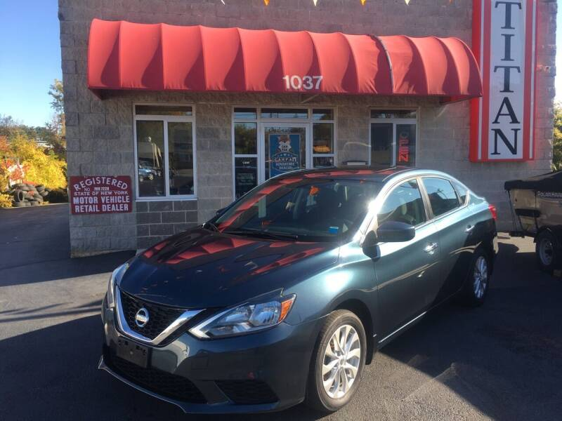 2016 Nissan Sentra for sale at Titan Auto Sales LLC in Albany NY
