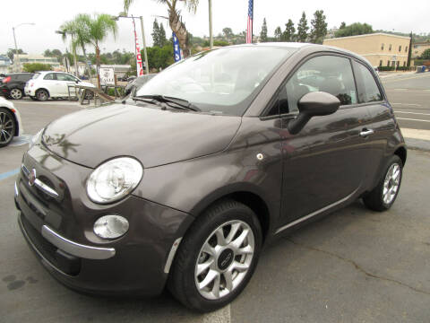 2017 FIAT 500 for sale at Eagle Auto in La Mesa CA