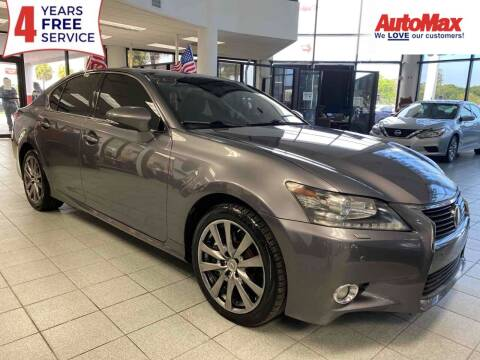 2013 Lexus GS 350 for sale at Auto Max in Hollywood FL