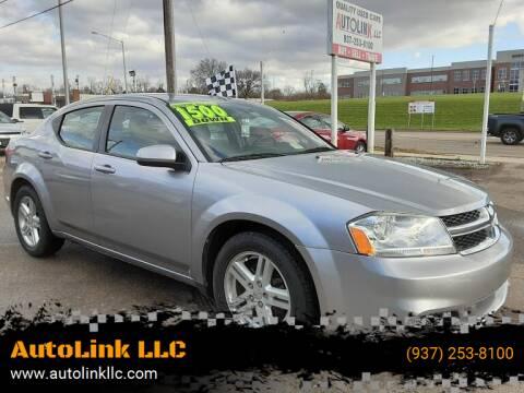 2013 Dodge Avenger for sale at AutoLink LLC in Dayton OH