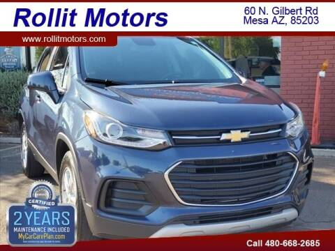 2018 Chevrolet Trax for sale at Rollit Motors in Mesa AZ