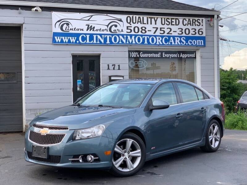 2012 Chevrolet Cruze for sale at Clinton MotorCars in Shrewsbury MA